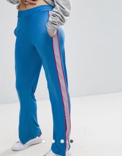 Pantalon bande contrastante asos
