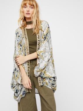 Kimono Jaipur écru