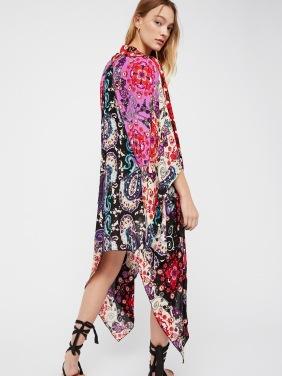Kimono mix print
