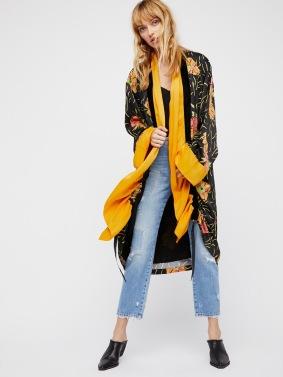 Kimono jaune