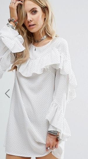 Robe Glamourous blanche - Asos